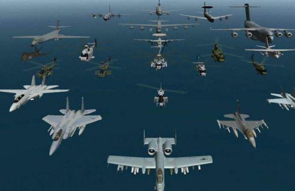 美智库:美空中力量无法满足全部作战需求
