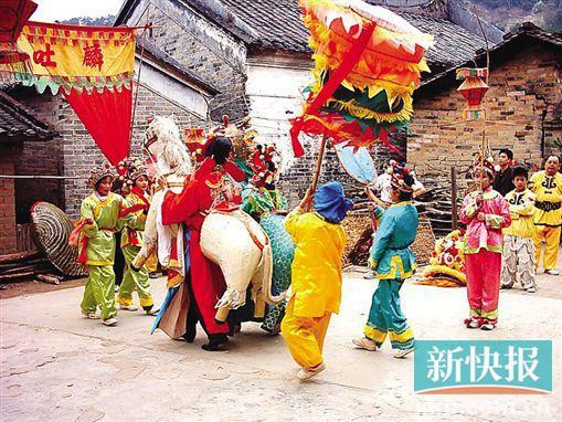 寻觅年味儿 广东最传统的民俗体验