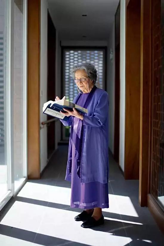叶嘉莹将全部财产捐赠给南开大学 设立迦陵基金