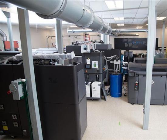 新动向:惠普3D打印耗材实验室投入运行