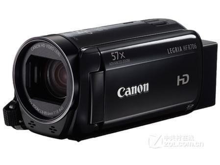 便携专业摄像机 佳能HFR706报价1950元