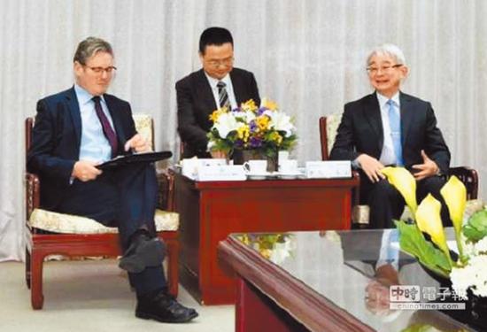 施凯尔(左)、郑玉山(右) 图自台媒