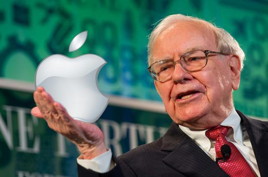 巴菲特一季度买7500万股苹果股票 此前持1.65亿股