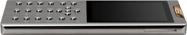 镶钻+5级钛 Gresso售价21万的限量奢侈功能机发布的照片 - 3
