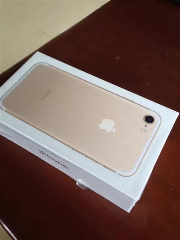 iPhone 7包装盒曝光的照片 - 2