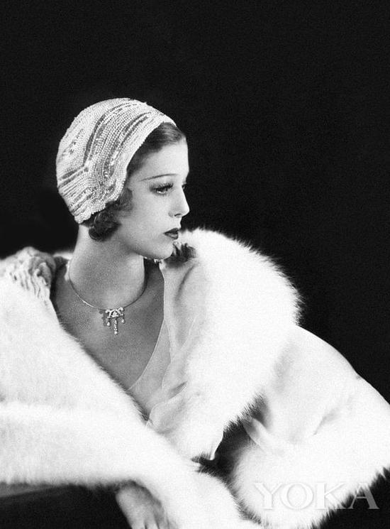 20世纪20年代的短发女郎。