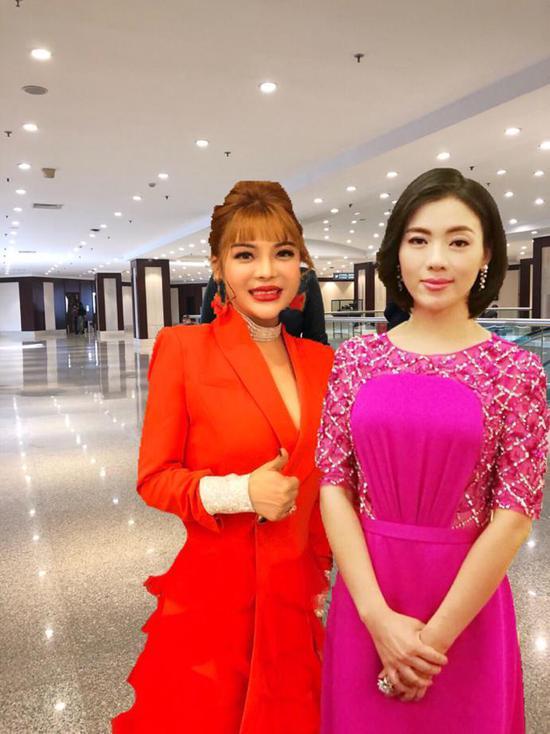 欧阳莎莎受邀参加2018全球华人春节联欢晚会