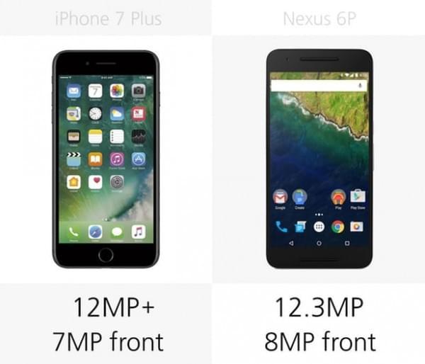 iPhone 7 Plus和Nexus 6P规格参数对比的照片 - 11