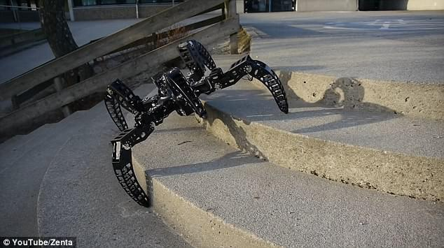 体型轻盈走位灵活 工程师制作狼蛛全地形机器人的照片 - 3