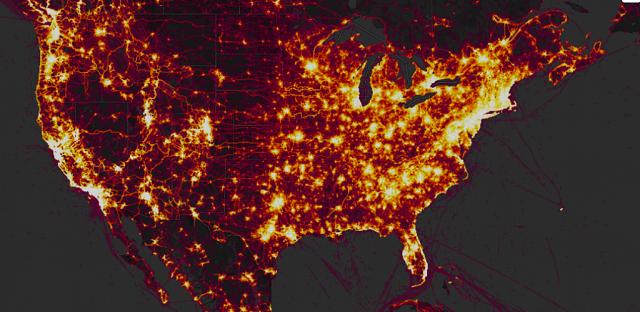 大数据隐忧 健康追踪设备或泄露美军事人员活动轨迹