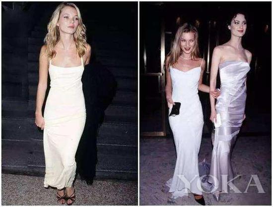 好莱坞女星穿Slip Dress