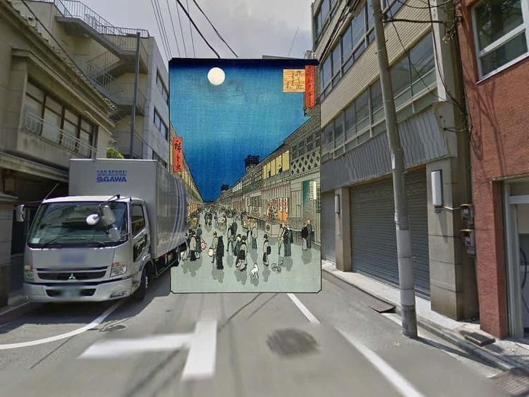 谷歌街景10岁了,艺术家也把它当成了创作工具