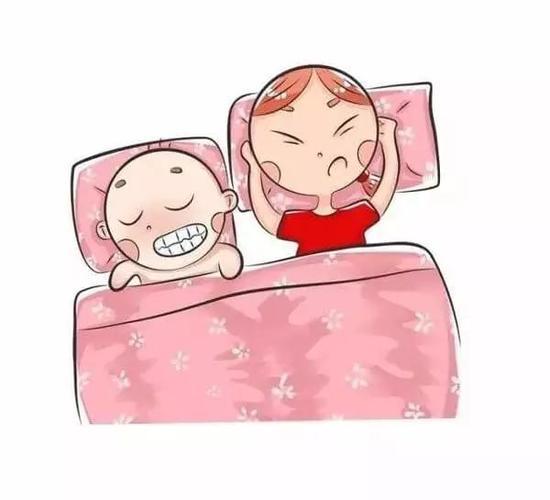 冷睡觉的图片可爱