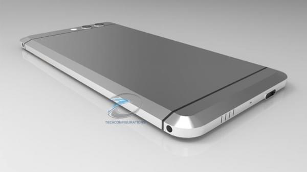 HTC无按钮Ocean渲染图曝光:双摄像头+USB-C端口的照片 - 4
