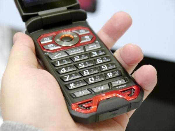 1.8米随你摔 京瓷推出最坚固的翻盖手机TORQUE X01的照片 - 10