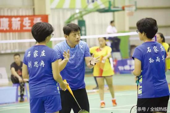「省运人物」石家庄市少体校羽毛球主教练肖瑞彬:培养更多羽毛球人才