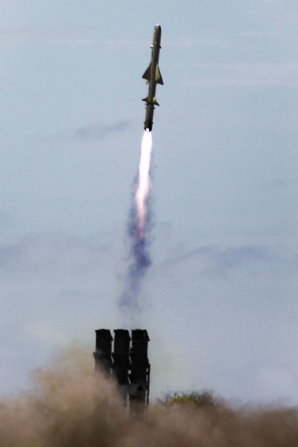 """美""""环太""""军演中岸舰导弹实弹打靶:要引起中国注意"""