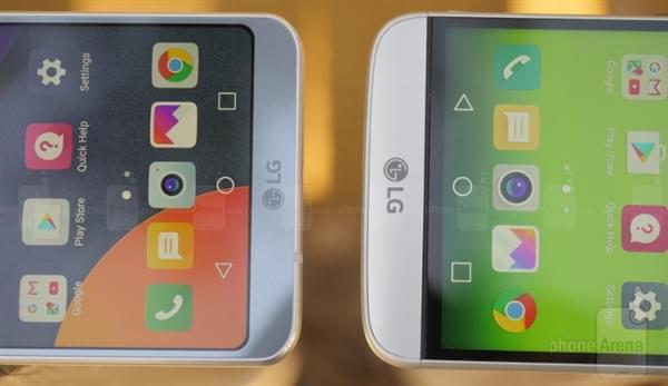 LG G6对比G5图赏:抛弃大黑边、镜头不凸
