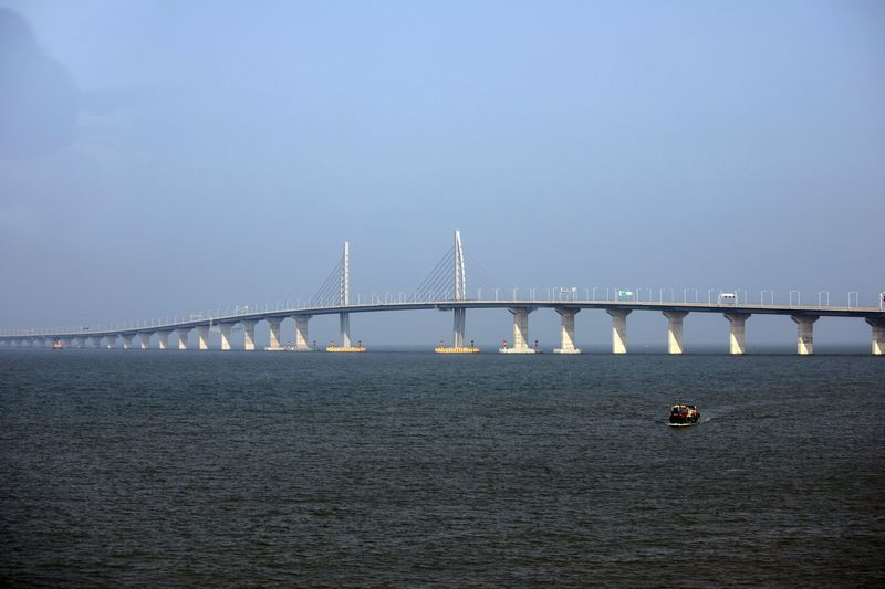中国斥资千亿元建大桥. 寻求打造大湾区与硅谷竞争