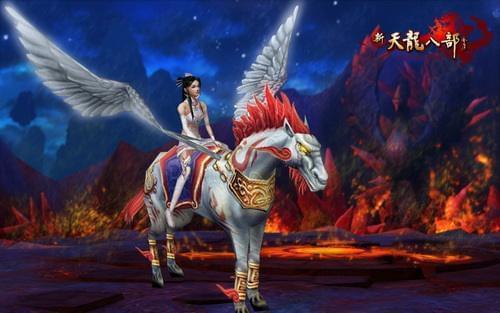 酷炫的坐骑天马是逛街、出征必备佳品