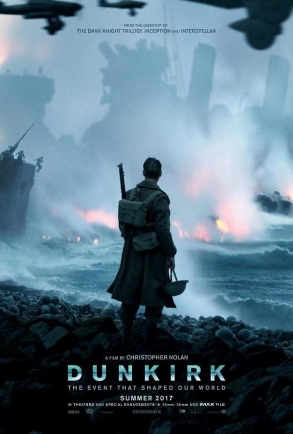 《敦刻尔克》全新中字预告 水陆空三线叙事紧张无比的照片 - 2