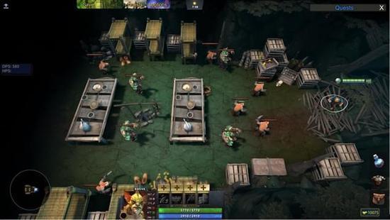 DOTA2创意工坊惊现神级RPG类似魔兽世界