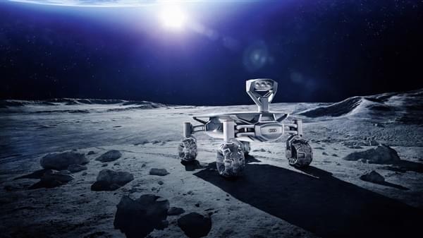 奥迪首款月球车明年发射:看家技术全用上了的照片 - 1