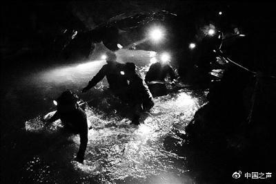 泰少年足球队13人洞穴失联9天 专家:仍有生还可能