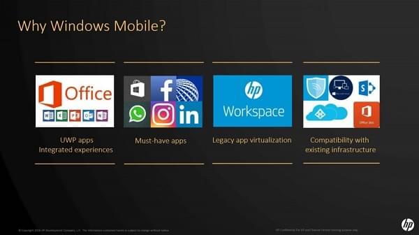惠普解释为何Elite X3选择了Windows 10而非Android平台的照片 - 2