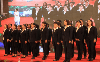 衡水五中初中部2017届毕业典礼隆重举行图片