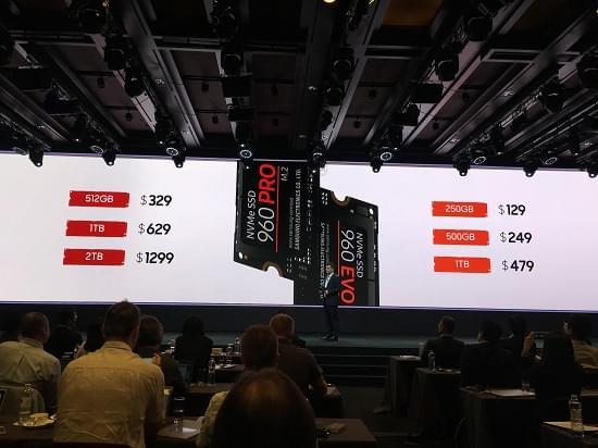 三星960EVO/PRO固态发布:售价861与2195元起的照片 - 1