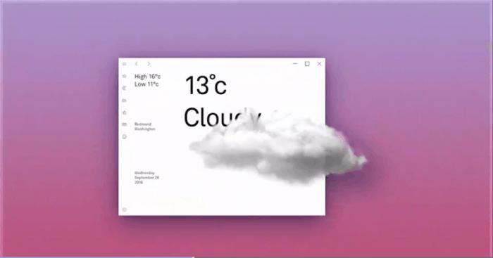 这是你要的毛玻璃特效:Fluent Design桌面和应用一览的照片 - 6