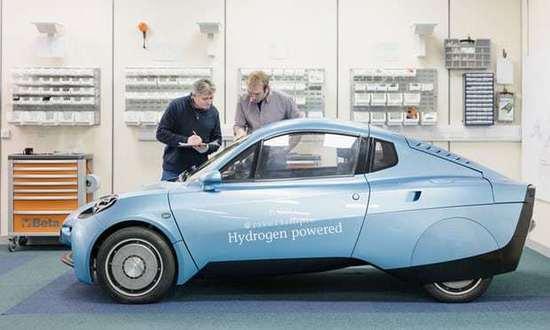 世界上唯一一家独立的氢燃料电池汽车创业公司