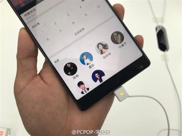 小米MIX全面屏手机真机现场图赏:3499元起售的照片 - 1