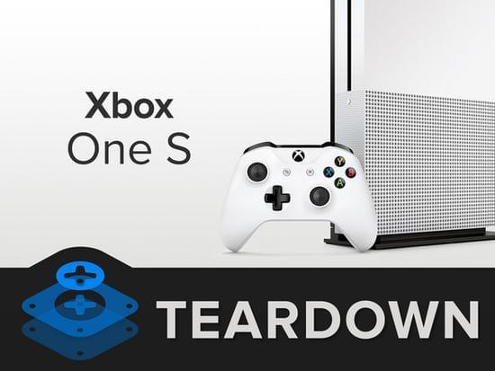 Xbox One S拆解:易于维修的照片 - 1