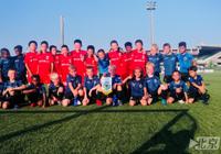 """首个中国足球青训营登陆比利时 体验""""红魔""""的养成模式"""