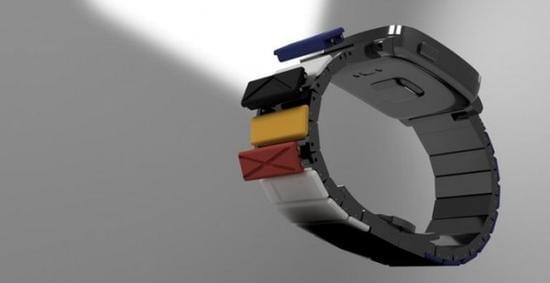 首款模块化表带亮相:可瞬间改变手表造型