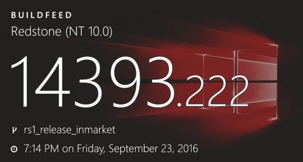 微软正式发布Windows 10 Build 14393.222累积更新的照片 - 1