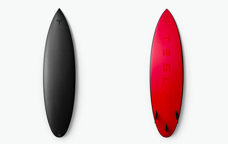 特斯拉卖限量版冲浪板:售价1500美元 总计200块
