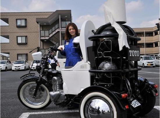 日本人发明粪便驱动摩托车,只是千万别翻车,不然…