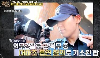 并非强制退伍 韩方记者表示TOP只是转换服役