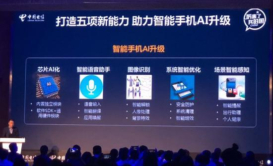 中国电信发布白皮书 将推出50款AI手机