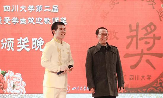 川大口碑男神教授刘利民:学生和老师应完全平等