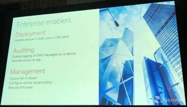微软公布Windows 10 Mobile 红石2部分功能的照片 - 4