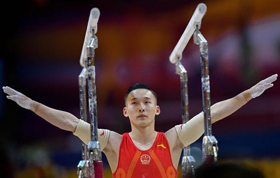 肖若腾战胜心魔 中国体操男队不能只盯着内村航平