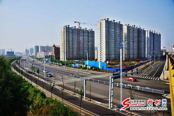 忻州城区44条道路建设工程稳步推进