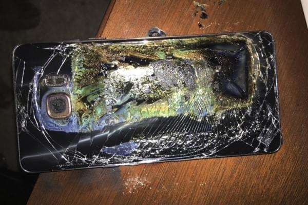 三星Galaxy Note 7爆炸事件 调查结果下月公布的照片