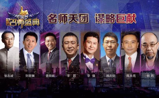 真人秀《华人名师盛典》首播 八大名师齐聚央视