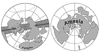 2.5亿年后地球将形成全新的超级大陆 那时谁主沉浮?的照片 - 2