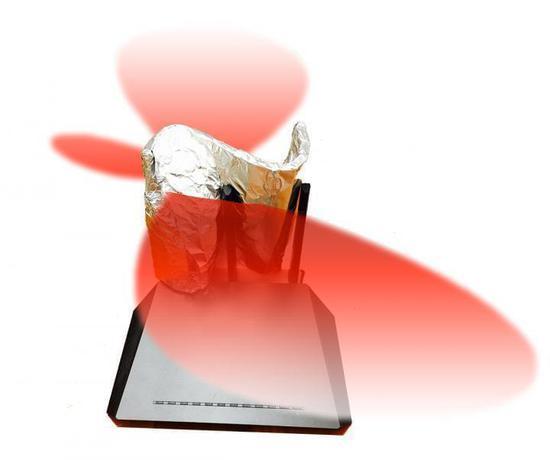 3D打印+铝箔让路由器威力大增:定制信号覆盖范围